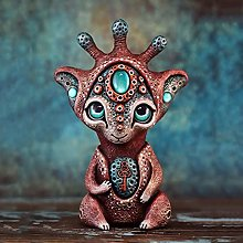 Teayason - Scultura da giardino creature da un