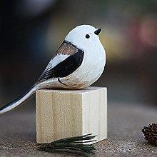 TEAYASON Scultura in Legno Ornamento in Miniatura