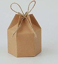 TEBX, 10/30/50 lanterne in carta kraft, confezione