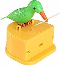 TEEAN Porta Stuzzicadenti Automatico per Uccelli