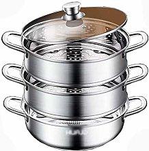 Tegame Induzione, Soup Pots with Lids, 304