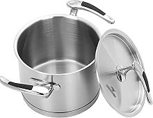 Tegame Induzione, Soup Pots with Lids, Stainless