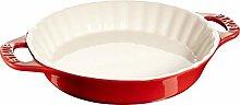 Teglia Crostata 28cm Rosso