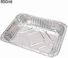 Teglia da forno, 50 pezzi, rettangolare, usa e