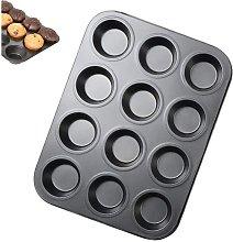Teglia per muffin da 12 tazze, teglia per muffin,