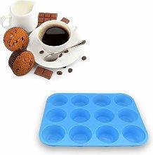 Teglia per muffin in silicone da 12 tazze,