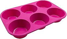 Teglia per muffin in silicone premium DealMux per