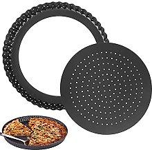 Teglia per pizza con fori, BKJJ Teglia Tonda con