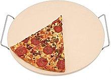 Teglia per pizza con tagliapizza, rotonda,