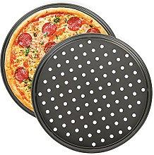 Teglia per Pizza, NALCY 2 Teglie per Pizza Rotonde
