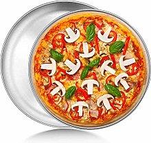 Teglia per Pizza, Set di 2 Teglie per Pizza da