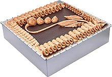 Teglia quadrata regolabile per torte – Teglia