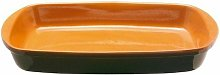 Teglia Rettangolare 42x25cm Bruna - Coli