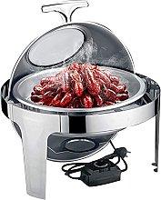 Teglia riscaldamento cibo, il server a buffet