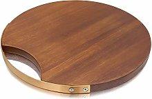 Teglie Per Pizza Taglio di legno di acacia bordo