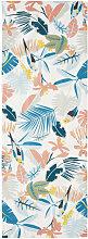 Tela da sdraio stampa tropicale multicolore