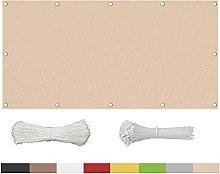 Telo di Protezione per Balconi 80x360cm,