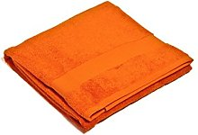 Telo Doccia Arancione 100 x 150 cm