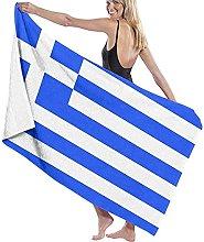 Telo Mare Microfibra,Bandiera Della Grecia Design