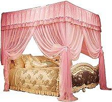 Tenda a baldacchino per letto principessa,