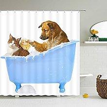 Tenda da doccia per gatti Tenda da doccia per