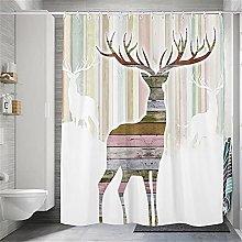 Tenda da Doccia Tessuto Spesso in Poliestere Elk
