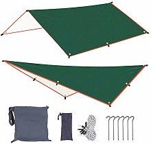 Tenda Da Sole Con 6 Pioli E 6 Corde Parasole Per