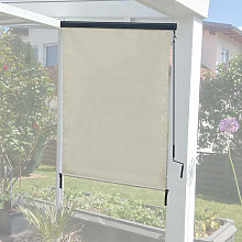 Tenda da sole verticale avvolgibile per finestra