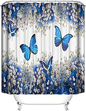 Tenda della Doccia farfalla Tende da Bagno in