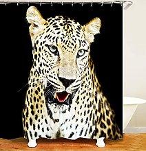 Tenda della Doccia leopardo animale Tenda da