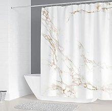 Tenda della Doccia Trama di marmo Tenda da doccia
