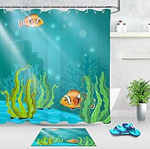 Tenda di doccia impermeabile del tessuto del bagno