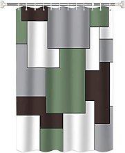 Tenda doccia antimuffa Motivo geometrico astratto