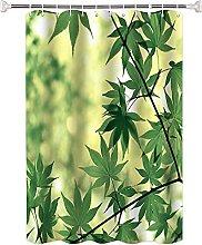 Tenda Doccia antimuffa Pianta a foglia verde