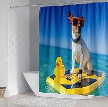 Tenda Doccia Cane animale Tenda da doccia in