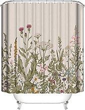 Tenda Doccia Fiore della pianta Tenda da doccia in