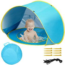 Tenda Gioco Parasole Bambini Spiaggia Mini Piscina