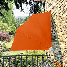 Tenda Laterale per Balcone Pieghevole Terracotta