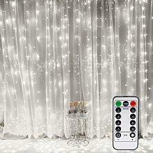 Tenda luminosa, lucine per finestre 300 LED 3m *