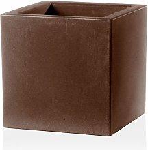 Teraplast - Vaso Cubo Schio Essential in resina da