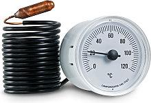 Termometro capillare, ricambio caldaia, diametro