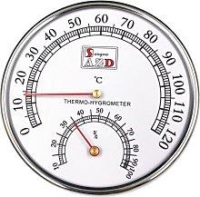 Termometro della stanza della sauna e igrometro,