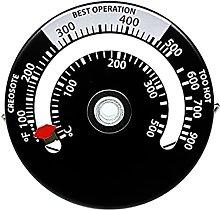 Termometro magnetico per stufa a legna, termometro