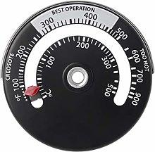 Termometro magnetico per stufe a legna,