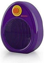 termoventilatore 3 livelli di potenza bubbleviolet