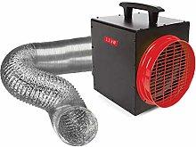 Termoventilatore da 3300 Watt con termostato e