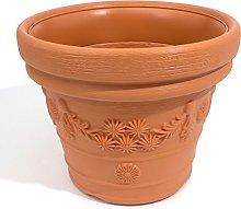 Terra - Vaso da Fiori Decora, Terracotta, 57 cm