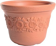 Terra - Vaso da Fiori Sunny, Terracotta, 35 cm