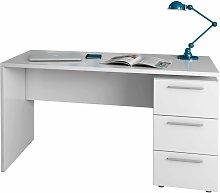Terrassa - Scrivania ufficio con 3 cassetti