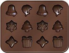 Tescoma Delicia Choco Stampo per Cioccolatini,